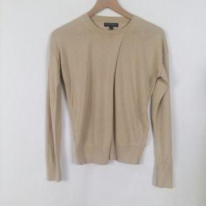 Banana Republic silk cashmere crew neck sweater
